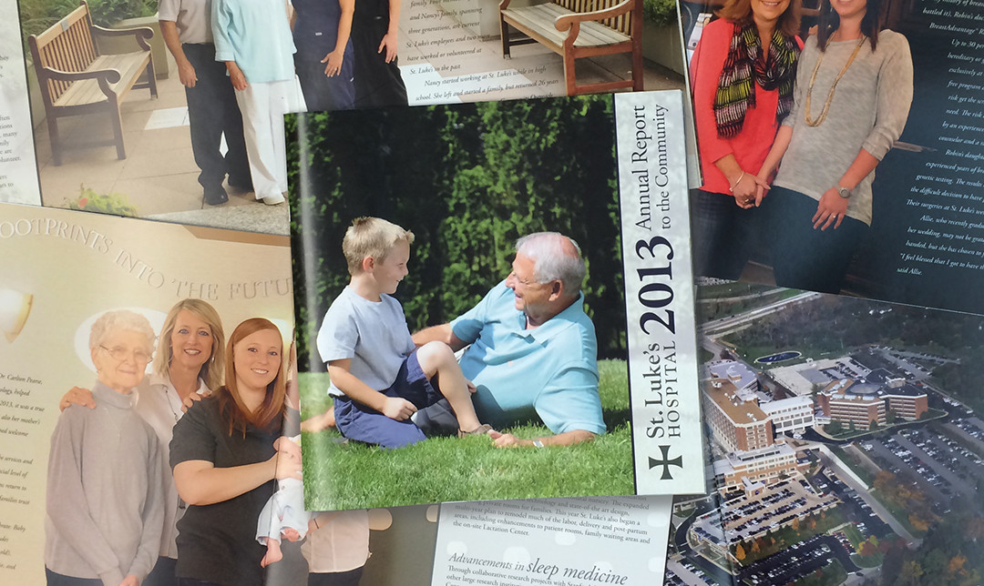 st. luke's annual report 2013